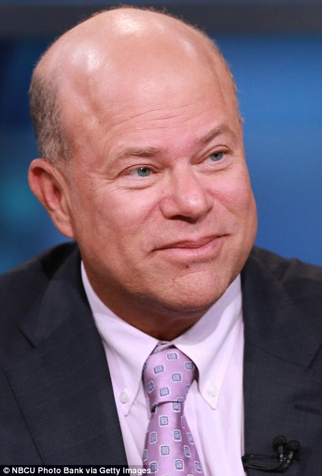 David Tepper (pictured) quit Goldman Sachs to set up his own hedge fund, now worth $20 billion, after then-CEO John Corzine passed him over for partner