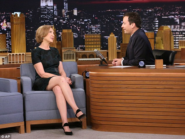On a lighter note: Republican presidential candidate Carly Fiorina made a humorous appearance on The Tonight Show with Jimmy Fallon on Monday, Sept. 21, 2015