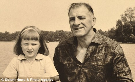 Daddy's girl: A young Tessa with her father