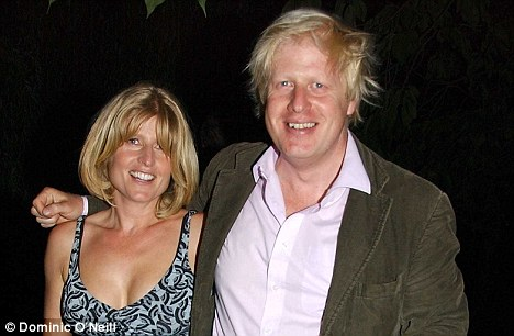 Rachel with her brother Boris: 'It's all right for young women, single ladies, Hollywood actresses, gay men and maybe even for my own daughter. But for me?' she mused