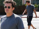 September 22, 2015: Orlando Bloom seen leaving Ollo Restaurant in Malibu, California. \nMandatory Credit: Sasha Lazic/INFphoto.com\nRef.: infusla-257\n