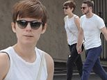 """Fantastic Four 2"" star Kate Mara and boyfriend Jamie Bell grabs a quick bite to eat at Stamp Proper Foods in Los Feliz after a night of partying at the emmys.\nFeaturing: Kate Mara, Jamie Bell\nWhere: Los Angeles, California, United States\nWhen: 22 Sep 2015\nCredit: Cousart/JFXimages/WENN.com"