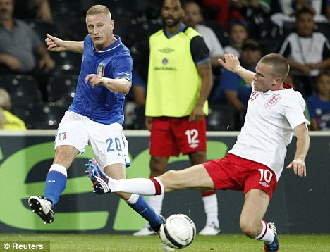 Full package: Tom Cleverley excelled for England in the heart of midfield