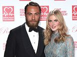 Mandatory Credit: Photo by David Fisher/REX Shutterstock (4425585r).. James Middleton and Donna Air.. British Heart Foundation 'Roll Out The Red' Ball, Park Lane Hotel, London, Britain - 10 Feb 2015.. ..
