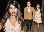 LONDON, UNITED KINGDOM - SEPTEMBER 21: Jasmin Walia and Ross Worswic seen during Love Magazine party at Lulu's Restaurant on September 21, 2015 in London, England.  PHOTOGRAPH BY Eagle Lee / Barcroft Media UK Office, London. T +44 845 370 2233 W www.barcroftmedia.com USA Office, New York City. T +1 212 796 2458 W www.barcroftusa.com Indian Office, Delhi. T +91 11 4053 2429 W www.barcroftindia.com