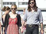 NEW YORK, NY - SEPTEMBER 23:  Dianna Agron and Winston Marshall are seen in Soho  on September 23, 2015 in New York City.  (Photo by Alo Ceballos/GC Images)