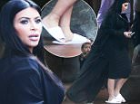 Kim Kardashian wears hotel flip flops as kim's ankles have swollen up as she leaving her San Diego hotel on her way back to LA\n\nPictured: Kim Kardashian\nRef: SPL1134677  230915  \nPicture by: Clint Brewer / Splash News\n\nSplash News and Pictures\nLos Angeles: 310-821-2666\nNew York: 212-619-2666\nLondon: 870-934-2666\nphotodesk@splashnews.com\n