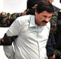 """These file photos from February 2014 show the capture of Joaquin """"El Chapo"""" Guzman, the Mexican crime boss who made a daring escape from a maximum security prison this weekend using a mile-long tunnel. The pictures show the apartment in the city of Mazatlan where Guzman, then on the US' most wanted list, was picked up as well as a parade in front of cameras by Mexican military police. He had escaped from jail in 2001. ....Pictured: Joaquin El Chapo Guzman..Ref: SPL1078946  150715  ..Picture by: Mezcalent / Splash News....Splash News and Pictures..Los Angeles: 310-821-2666..New York: 212-619-2666..London: 870-934-2666..photodesk@splashnews.com.."""