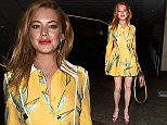 LONDON, ENGLAND - SEPTEMBER 22:  Lindsay Lohan attends Wonderland Magazine's 10th Anniversary Party at Drama night club in Mayfair on September 22, 2015 in London, England.  (Photo by Keith Hewitt/GC Images)