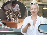 EXCLUSIVE Coleman-Rayner. Los Angeles CA, USA. September 15, 2015..Singer Sia Furler is seen picking up Chinese take-out as she and her family move into her new Hollywood Hills home. The movers were seen carefully and Ironically unpacking The Australian singers' Chandelier ..CREDIT LINE MUST READ: Coqueran/Coleman-Rayner..Tel US (001) 310-474-4343 - office¿..Tel US (001) 323 545 7584 - cell..www.coleman-rayner.com