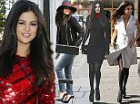 LONDON, UNITED KINGDOM - SEPTEMBER 23:  Selena Gomez seen arriving at the Kiss FM Studios on September 23, 2015 in London, England. Photo by Neil Mockford/Alex Huckle/GC Images)