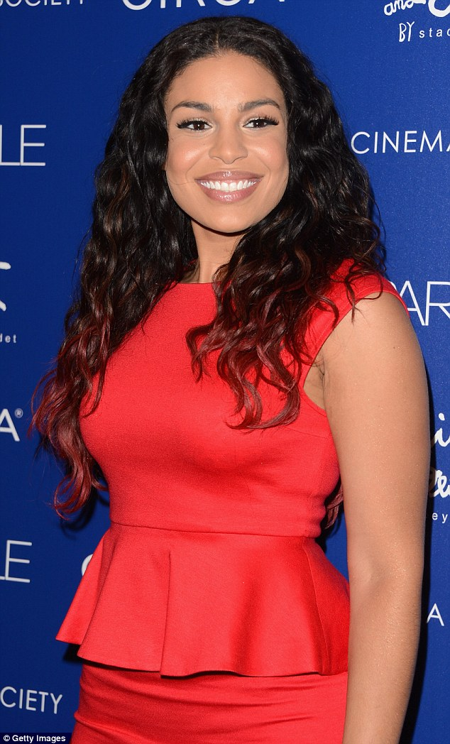 Soldiering on: Jordin Sparks attends a special screening of Sparkle at the Tribeca Grand Hotel in New York City for The Cinema Society