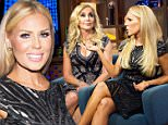 WATCH WHAT HAPPENS LIVE -- Pictured (l-r): Shannon Beador and Gretchen Rossi -- (Photo by: Charles Sykes/Bravo/NBCU Photo Bank via Getty Images)