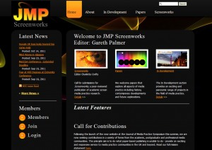 Screenshot of JMP Screenworks