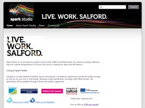 Screenshot of Spark Studio Salford