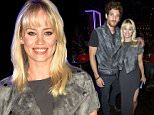 Mandatory Credit: Photo by Hannah Young/REX Shutterstock (5158309s)  Kimberley Wyatt and Max Rogers  CAA YLP Party with Nordoff Robbins, London, Britain - 23 Sep 2015