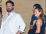 21 SEP 2015 - LOS ANGELES - USA *** STRICTLY AVAILABLE FOR UK AND GERMANY USE ONLY *** ***EXCLUSIVE ALL ROUND PICTURES *** BEN AFFLECK AND JENNIFER GARNER SEEN LEAVING NOBU RESTAURANT IN MALIBU TOGETHER AFTER A ROMANTIC DINNER! BYLINE MUST READ : XPOSUREPHOTOS.COM ***UK CLIENTS - PICTURES CONTAINING CHILDREN PLEASE PIXELATE FACE PRIOR TO PUBLICATION *** *UK CLIENTS MUST CALL PRIOR TO TV OR ONLINE USAGE PLEASE TELEPHONE 0208 344 2007*