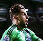 """Football - Milton Keynes Dons v Southampton - Capital One Cup Third Round - Stadium MK - 23/9/15  Jay Rodriguez celebrates scoring the first goal for Southampton  Mandatory Credit: Action Images / Alex Morton  Livepic  EDITORIAL USE ONLY. No use with unauthorized audio, video, data, fixture lists, club/league logos or """"live"""" services. Online in-match use limited to 45 images, no video emulation. No use in betting, games or single club/league/player publications.  Please contact your account representative for further details."""