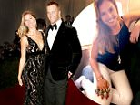 Mandatory Credit: Photo by Matt Baron/BEI/REX Shutterstock (3731773pu).. Gisele Bundchen and Tom Brady.. Costume Institute Gala Benefit celebrating Charles James: Beyond Fashion, Metropolitan Museum of Art, New York, America - 05 May 2014.. ..