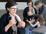 EXCLUSIVE FAO DAILY MAIL ONLINE GBP 40 PER PICTURE\n Mandatory Credit: Photo by Tania Coetzee/REX Shutterstock (5158217k)\n Milla Jovovich with daughters Dashiel Edan and Ever Gabo and Husband Paul Anderson\n Milla Jovovich and family at Cape Town Airport, South Africa - 22 Sep 2015\n Milla Jovovich was seen casually breastfeeding her youngest daughter Dashiel, while stepping through domestic arrivals at Cape Town Airport on Tuesday afternoon. The Resident Evil actress arrived back in the city on Tuesday with husband Paul Anderson and her 2 children after spending a few weeks filimg in Johannesburg.\n