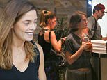 Los Angeles, CA - Ashley Greene is all smiles as she wraps up a gym session with a gal pal and fellow actor Bradley Cooper. Cooper tried to hide his famous face but we snapped a few images of the trio sharing an elevator ride together.\nAKM-GSI        September 23, 2015\nTo License These Photos, Please Contact :\nSteve Ginsburg\n(310) 505-8447\n(323) 423-9397\nsteve@akmgsi.com\nsales@akmgsi.com\nor\nMaria Buda\n(917) 242-1505\nmbuda@akmgsi.com\nginsburgspalyinc@gmail.com