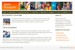 Screenshot of Sport Stockport