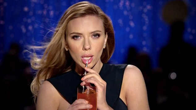 Sultry: Scarlett Johannson is expected to cause a stir with an advertisement for a soft drink
