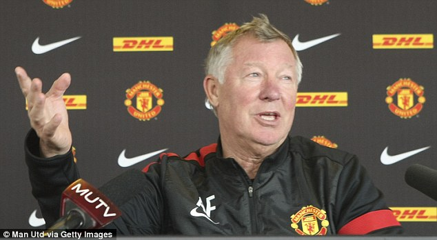 He's been here before: Sir Alex Ferguson speaks on Friday ahead of the eagerly-anticipated clash