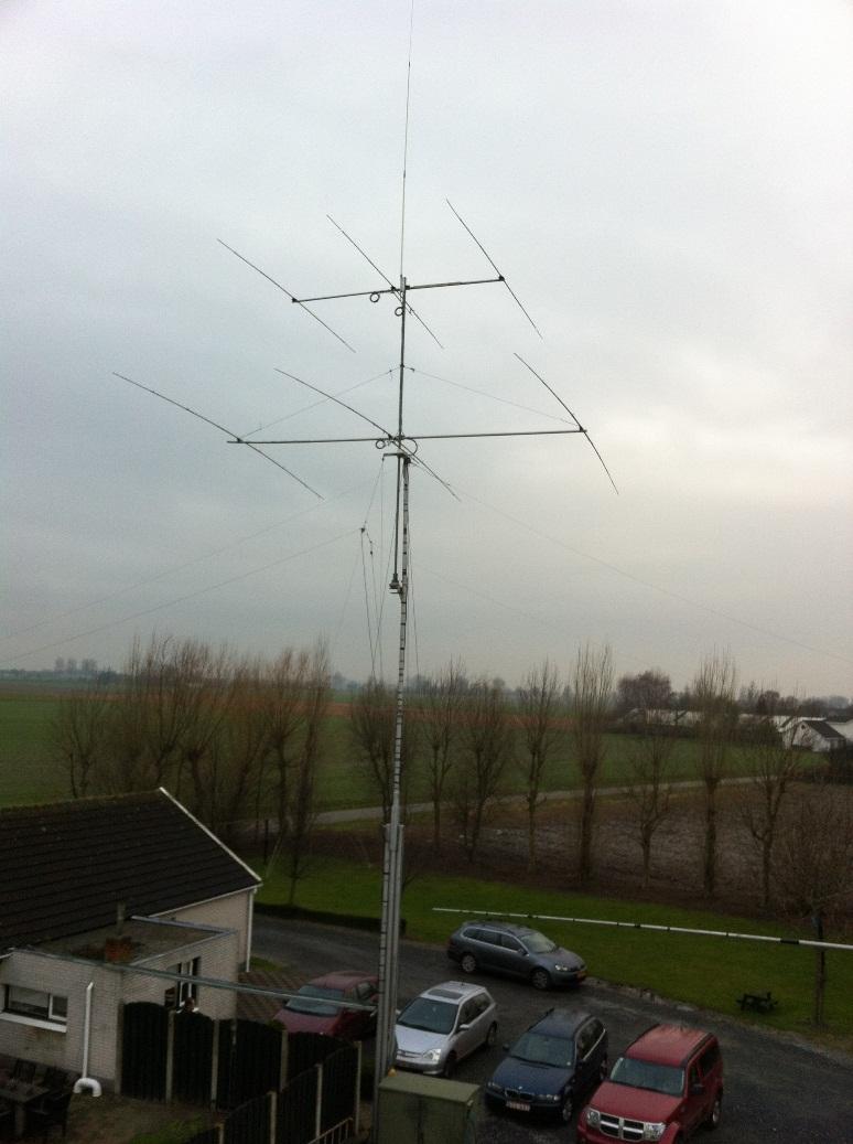3 el 20m & 3 el 10 meter EU tower low