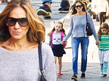 Mandatory Credit: Photo by Startraks Photo/REX Shutterstock (5168328h)\n Sarah Jessica Parker with Daughters (Marion Loretta and Tabitha Hodge)\n Sarah Jessica Parker and twins out and about, New York, America - 24 Sep 2015\n Sarah Jessica Parker Walking her Twins to School\n