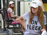 Picture Shows: Farrah Abraham  September 23, 2015\n \n **MINIMUM WEB FEE £200**\n \n 'Celebrity Big Brother' star Farrah Abraham is seen leaving the A&E department at St Thomas Hospital in London, England, following an alleged incident during last night's taping of 'Bit On The Side'.\n \n Farrah went to hospital to have her back and neck checked over following injuries suffered during the altercation on the show last night.\n \n **MINIMUM WEB FEE £200**\n \n Exclusive ALL ROUNDER\n WORLDWIDE RIGHTS\n \n Pictures by : FameFlynet UK © 2015\n Tel : +44 (0)20 3551 5049\n Email : info@fameflynet.uk.com