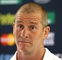 BAGSHOT, ENGLAND - SEPTEMBER 24:  Stuart Lancaster, the England head coach, faces the media during the England meida session at Pennyhill Park on September 24, 2015 in Bagshot, England.  (Photo by David Rogers/Getty Images)