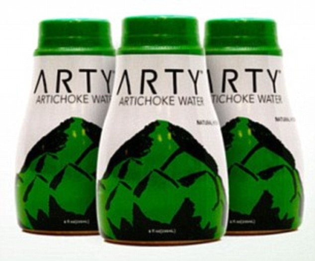 The California company  Arty Water have mixed this antioxidant, vitamin C and potassium-rich vegetable with filtered water, spearmint and blue agave nectar