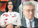 Robert Deniro and Anne Hathaway in The Intern