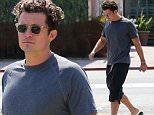 September 22, 2015: Orlando Bloom seen leaving Ollo Restaurant in Malibu, California. \nMandatory Credit: Sasha Lazic/INFphoto.com\nRef.: infusla-257\n