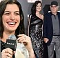 """Anne Hathaway, left, and Robert De Niro attend the premiere of """"The Intern"""" at the Ziegfeld Theatre on Monday, Sept. 21, 2015, in New York. (Photo by Evan Agostini/Invision/AP)"""