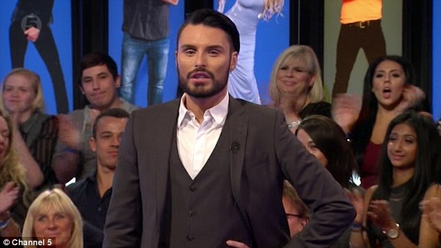 Apologies:Immediately after, host Rylan Clark explained to viewers that the show 'had lost the panel'