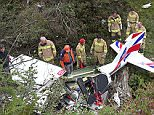 Pic shows: Firefighters Flachau helped salvage the wreck.\n\nA British pilot and his colleague en route to Spain died after the private plane they were piloting crashed apparently due to heavy turbulence over the Austrian Alps.\n\nThe storm in the Alpine region of Pongau in the province of Salzburg, western Austria, caused severe turbulence and initial reports claim that the plane had plummeted to the ground after the pilot had lost control of the craft.\n\nThe wreckage of the light aircraft belonging to the 79-year-old Brit and the 76-year-old Austrian, who have not been named but who were business partners and co-owners of the plane, was only discovered on Saturday, two days after going missing on Thursday.\n\nThe plane was on its way to Spain after taking off from Breclav in the Czech Republic on Thursday morning.\n\nPolice confirmed papers found in the aircraft lead to the identification of the pilots.\n\nAustrian air traffic control Austro Control reported that the plane went mis
