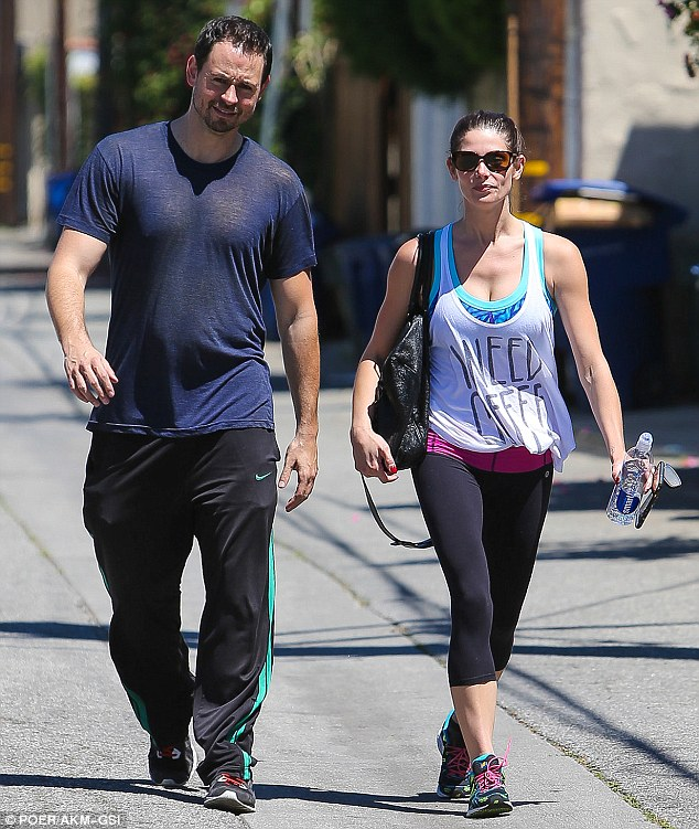 No sweat! Ashley Greene donned eye-catching attire for a session at Rise Movement gym in West Hollywood on Tuesday