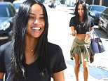Karrueche Tran Leaves Kate Sommerville Skin Care\n\nPictured: Karrueche Tran\nRef: SPL1135523  240915  \nPicture by: All Access Photo Group\n\nSplash News and Pictures\nLos Angeles: 310-821-2666\nNew York: 212-619-2666\nLondon: 870-934-2666\nphotodesk@splashnews.com\n