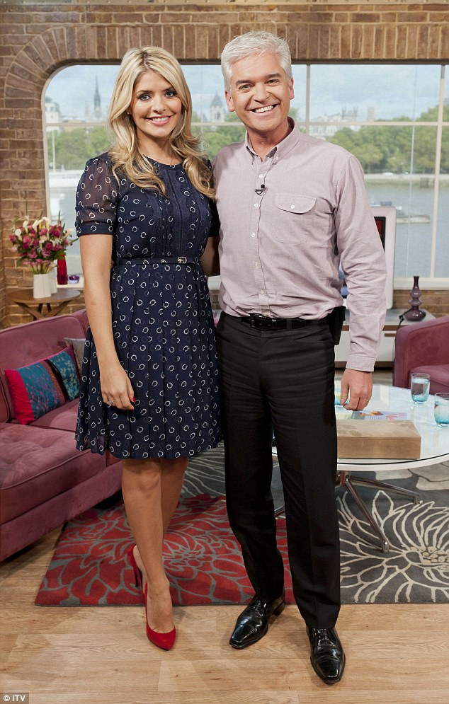 Back soon: Holly took time off from her busy work schedule after welcoming her youngest, but she's already returned to her ITV show Surprise, Surprise and also panel show Celebrity Juice, and will return to This Morning soon