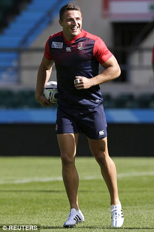 Sam Burgess, who only switched from league this season, was a surprise inclusion in the squad
