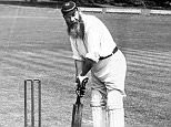 Cricket, A picture of legendary WG Grace (William Gilbert Grace) playing cricket. (Photo by Popperfoto/Getty Images)