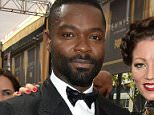 IMAGE DISTRIBUTED FOR THE TELEVISION ACADEMY - David Oyelowo, left, and Jessica Oyelowo arrive at the 67th Primetime Emmy Awards on Sunday, Sept. 20, 2015, at the Microsoft Theater in Los Angeles. (Photo by Charles Sykes/Invision for the Television Academy/AP Images)