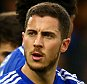 LONDON, ENGLAND - APRIL 04:  Eden Hazard of Chelsea celebrates with team-mates after scoring the opening goal from the penalty spot during the Barclays Premier League match between Chelsea and Stoke City at Stamford Bridge on April 4, 2015 in London, England.  (Photo by Richard Heathcote/Getty Images)