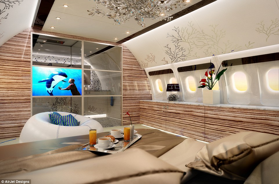 The ultimate luxury for frequent fliers is not to feel like they are cramped on a standard jet