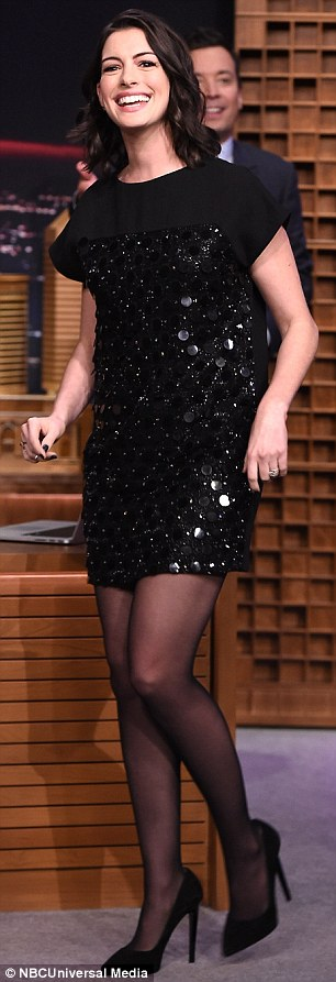 Star power: Anne certainly brought some glamour to the chat show