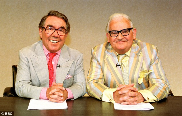 Long run on primetime TV:Although Ronnie Barker's friend and stage partner Ronnie Corbett (left), happily, is still very much with us, The Two Ronnies is already ancient history in showbiz terms