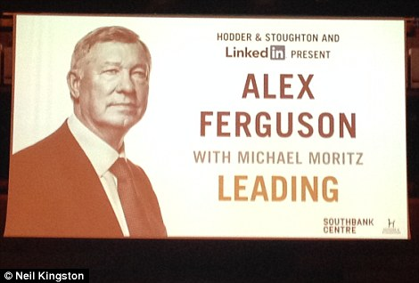 Ferguson is touring with the book, Leading, which is about management