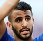 BOURNEMOUTH, ENGLAND - SEPTEMBER 19: Riyad Mahrez of Leicester City after the 2-2 draw against Stoke City which sees Leicester still unbeaten after the Premier League match between Stoke City and Leicester City at the Britannia Stadium on September 19, 2015 in Stoke on Trent , United Kingdom.  (Photo by Plumb Images/Leicester City FC via Getty Images)